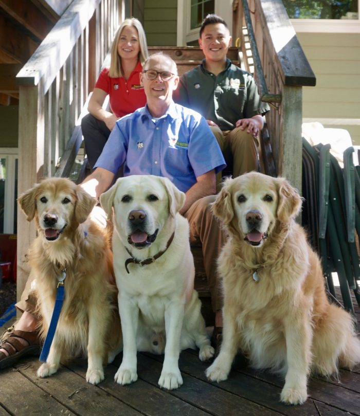 As a team, we are so excited to help you solve and guide you through your dog(s) behavioral issues